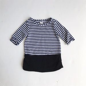 Old Navy striped sweater dress EUC 12-18 months